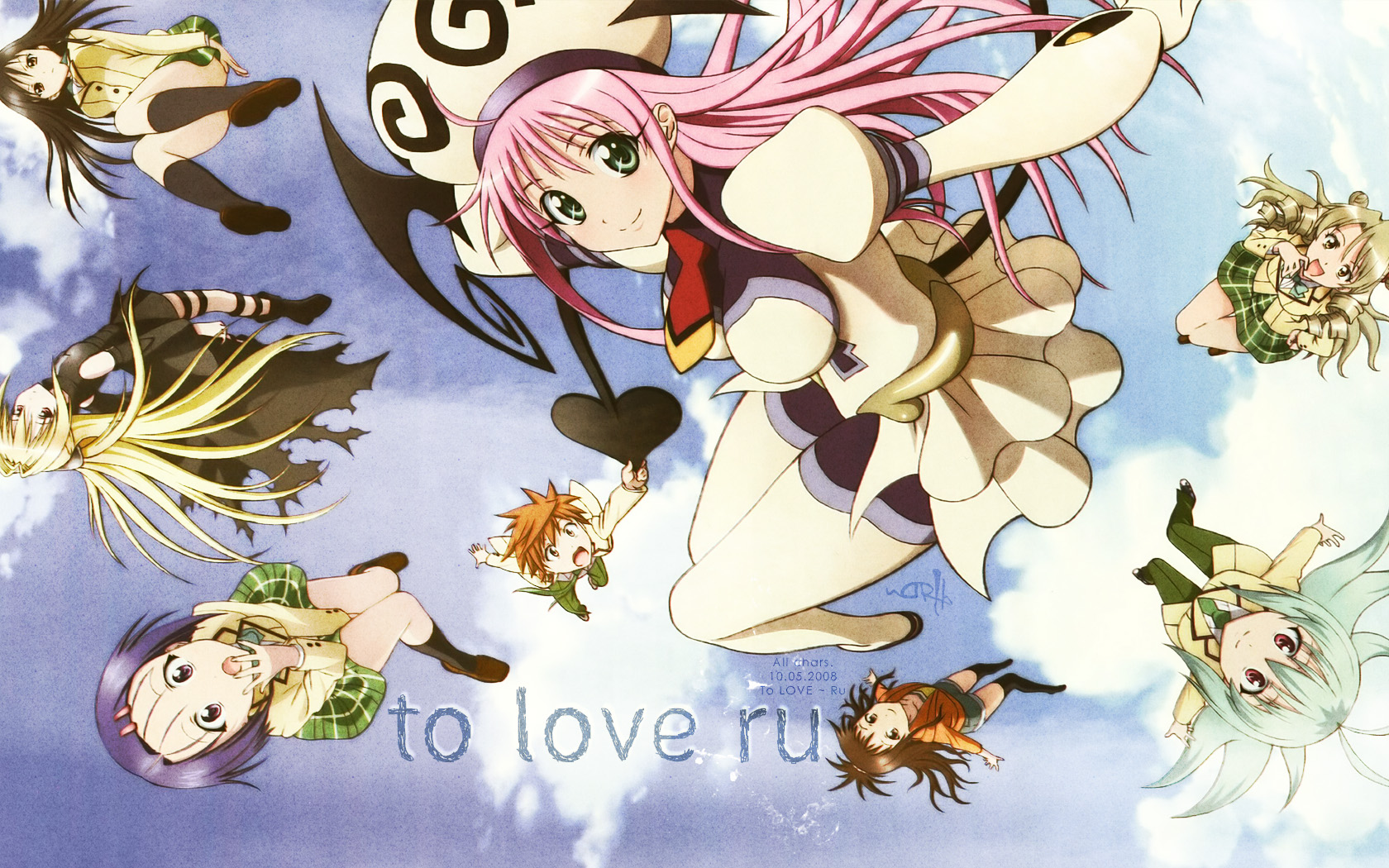 Free Download To Love Ru Darkness 1680x1050 For Your Desktop