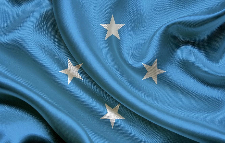 Wallpaper Flag Blue Texture Stars Flag Satin Satin 1332x850