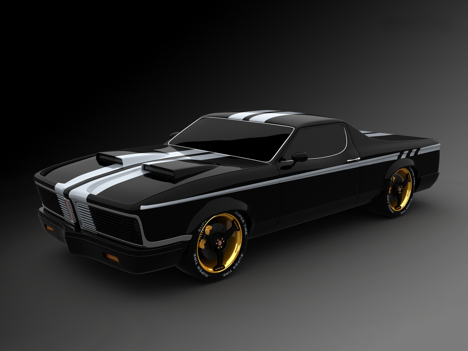 Related Pictures cool muscle cars wallpaper 1600x1200