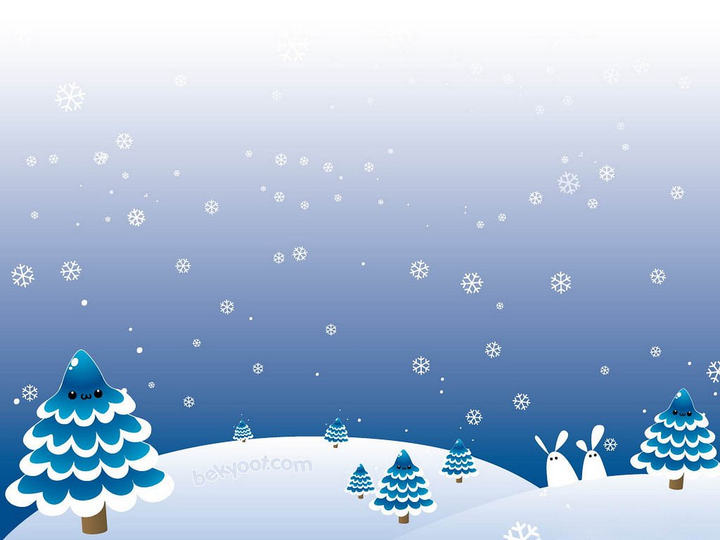 Cute Winter Background DanielleMansueto Flickr 1024x768