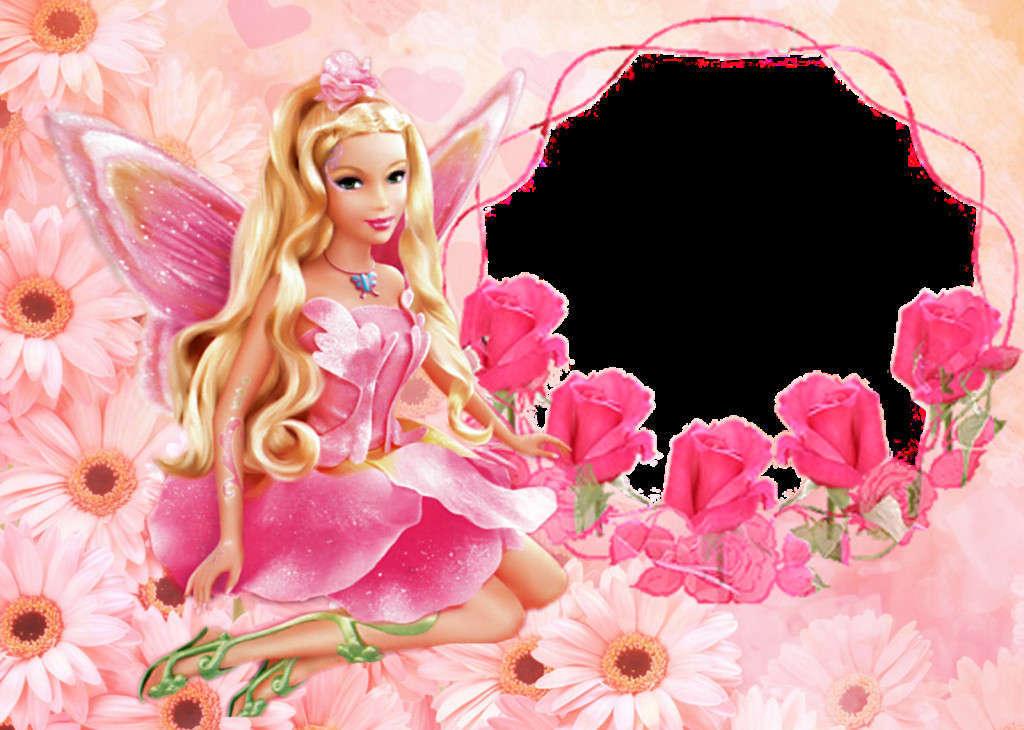 Barbie Doll CUte Pink Desktop Wallpaper 1024x730 Download 1024x730