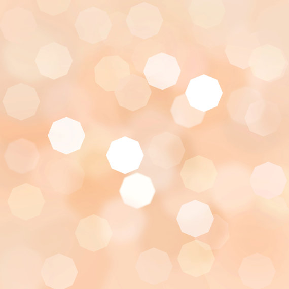 Peach Coral Apricot Bokeh background 12 x 12 by Sharmilaw on Etsy 570x570