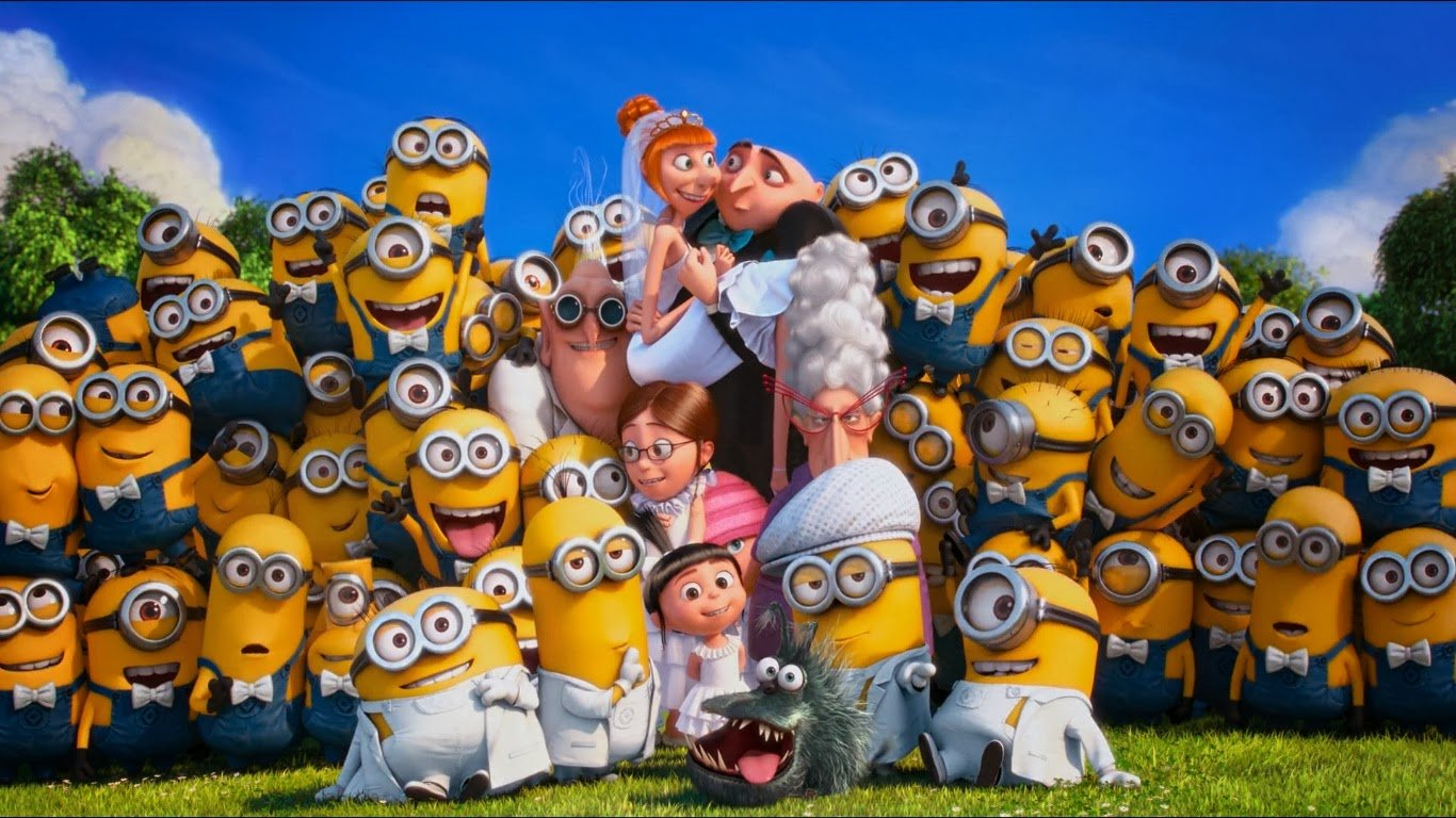 Despicable Me - The Minions - Stuart and Dave coloring page