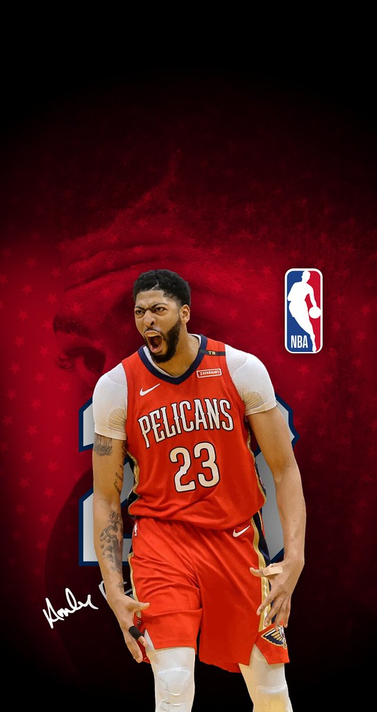 23 Anthony Davis New Orleans Pelicans iPhone 678 Wall Flickr 543x1024