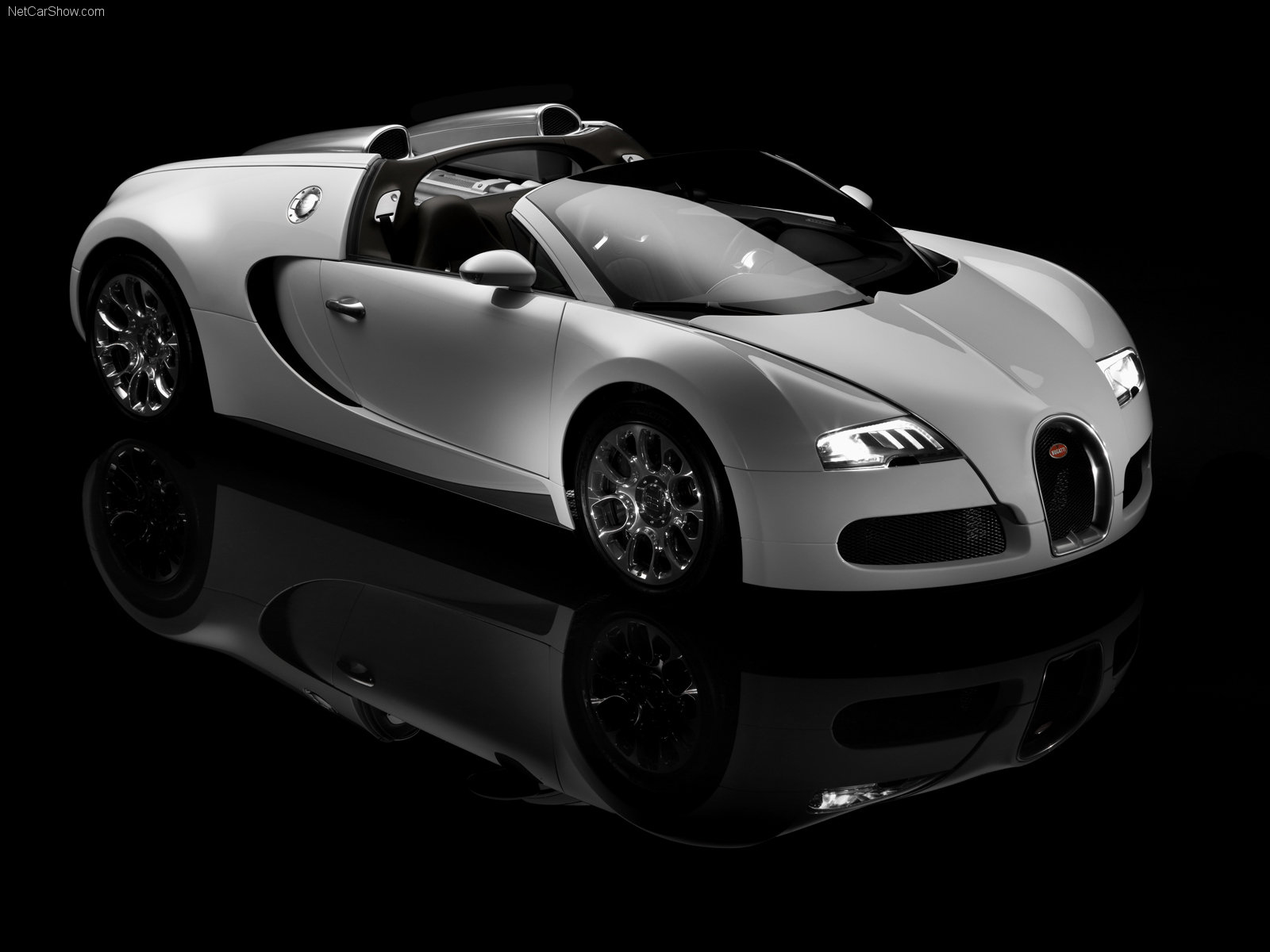 Bugatti Veyron white supercar wallpaper HD Only   Wallpapers 1600x1200