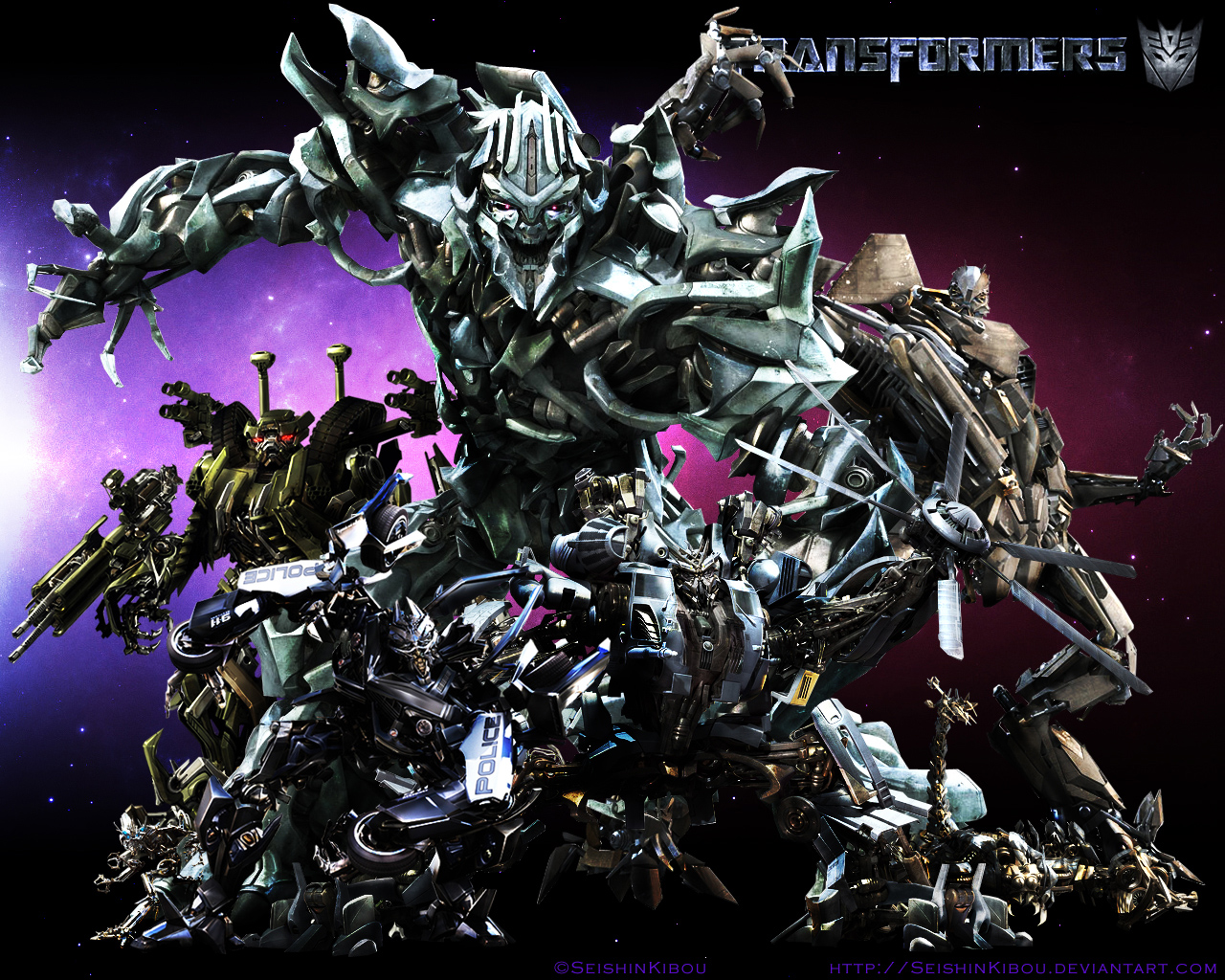 Decepticon Wallpaper 1280x1024