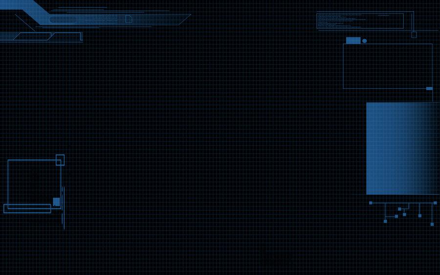 JARVIS Mainframe wallpaper by Zenoxen 900x563