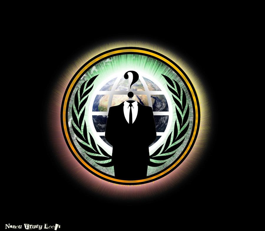 Anonymous Logo Wallpaper - WallpaperSafari