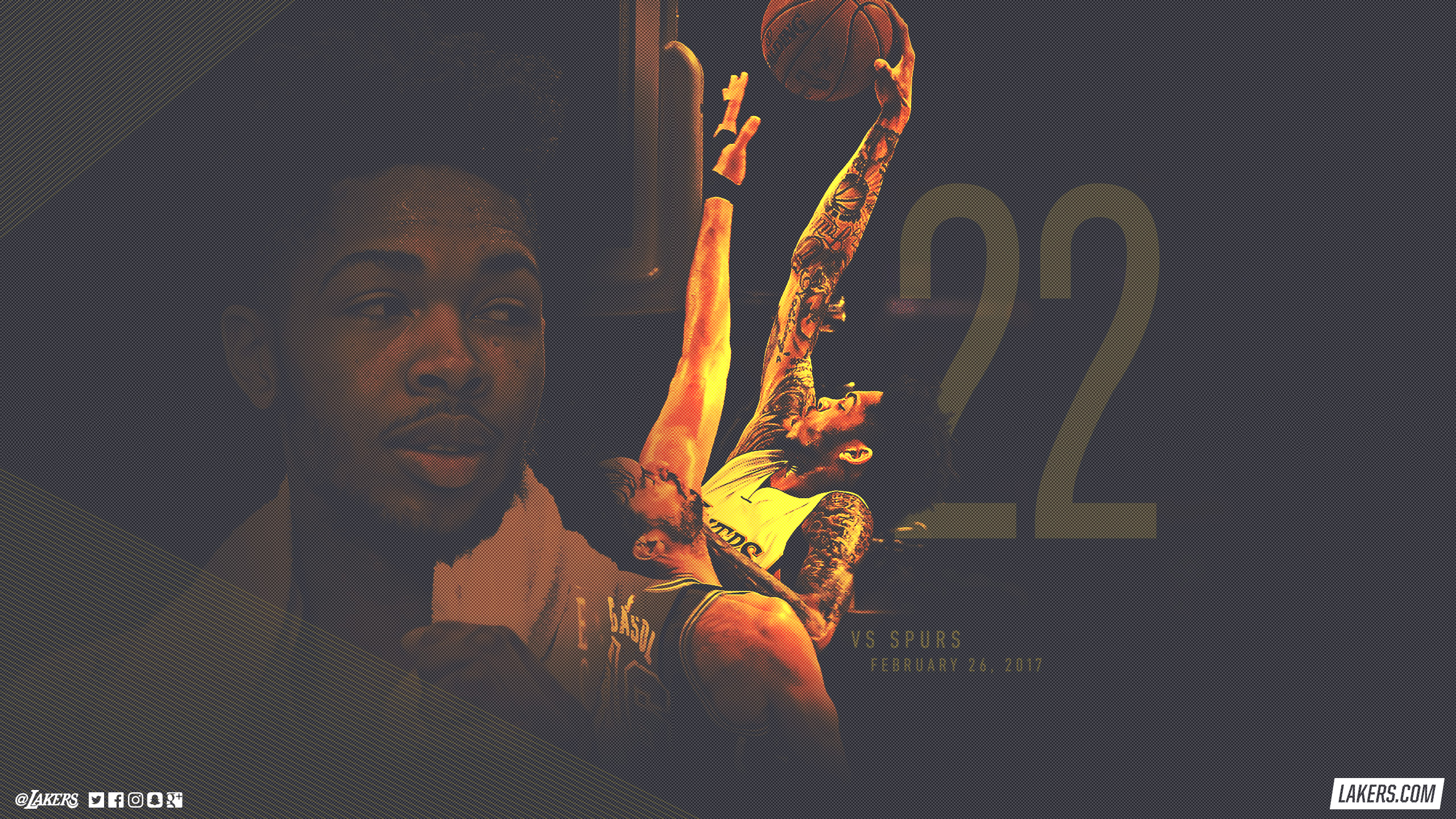 Lakers Wallpapers Archive Los Angeles Lakers 2560x1440