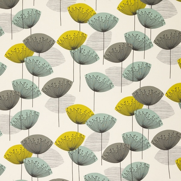 Sanderson Dandelion Clock Fabric Ideas for the abode Pinterest 600x600
