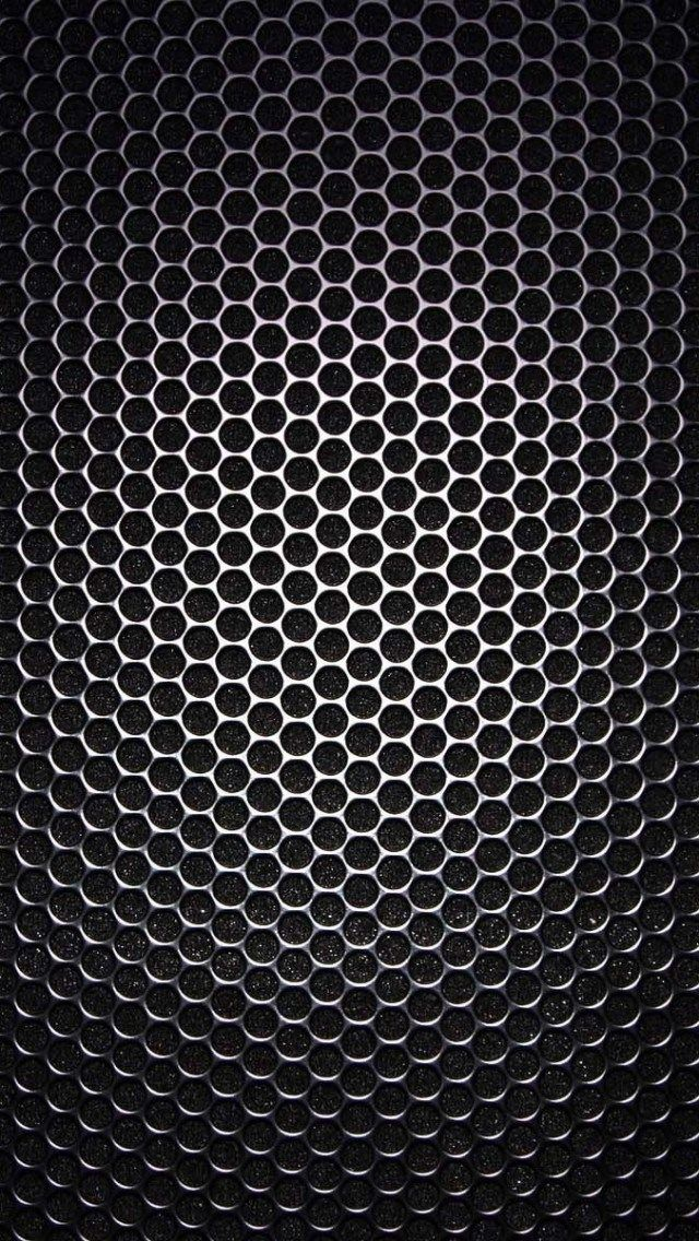 Speaker Grill Closeup Texture iPhone 5 Wallpaper carbon texture 640x1136