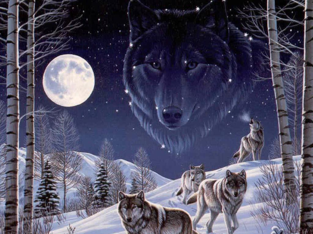 Black Wolf Art Wallpaper Tsf 1024x768 pixel Popular HD Wallpaper 1024x768