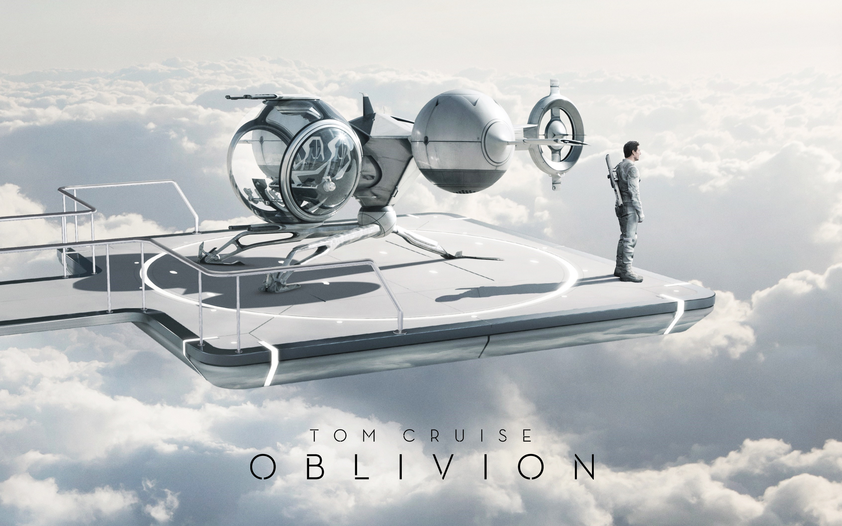 Tom Cruise Oblivion Movie Facebook Covers Wallpapers HD 2880x1800