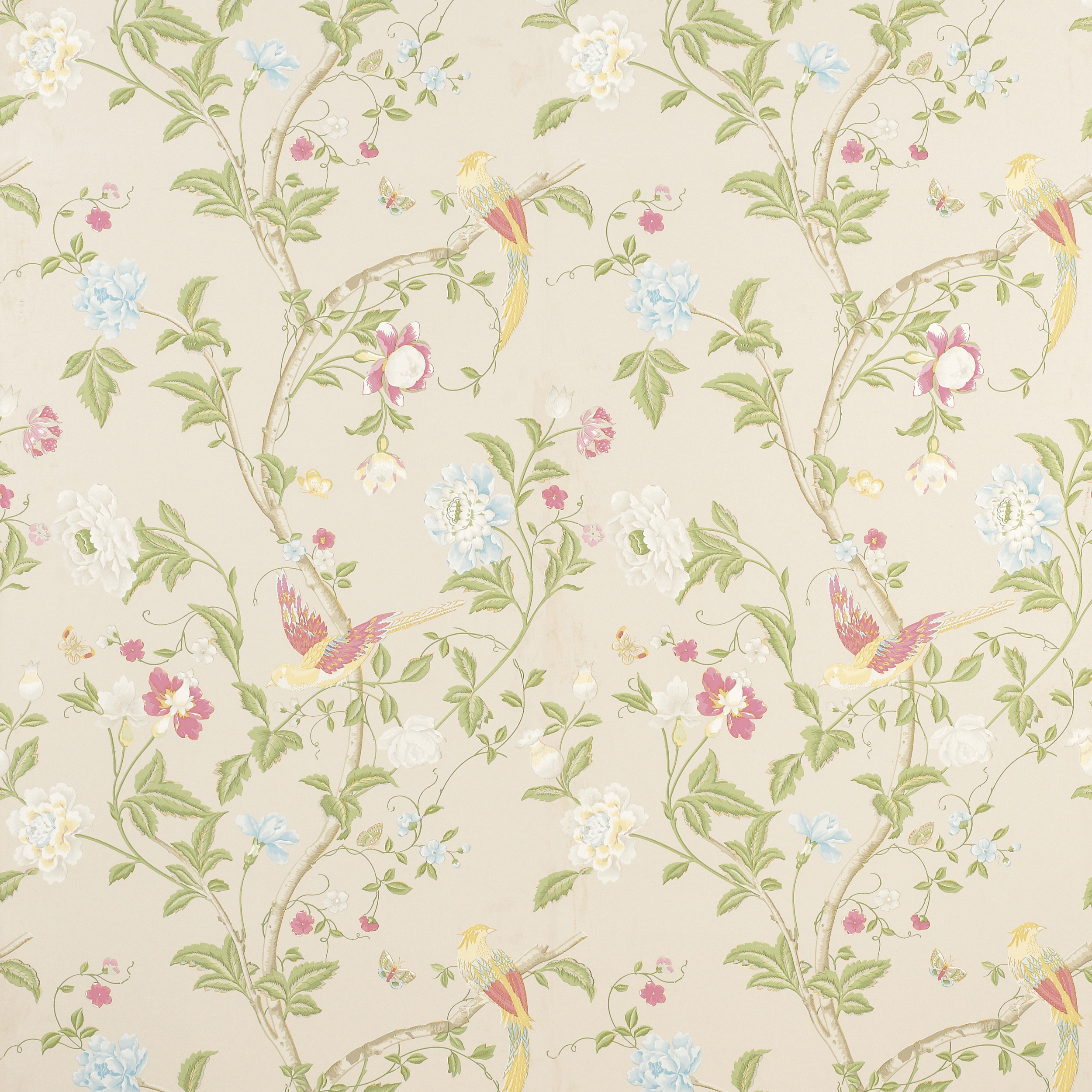 Laura Ashley Wallpaper Bedroom Laura Ashley Summer Palace Wallpaper Wallpapersafari