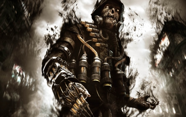 Scarecrow Batman Arkham Knight click to view 620x390