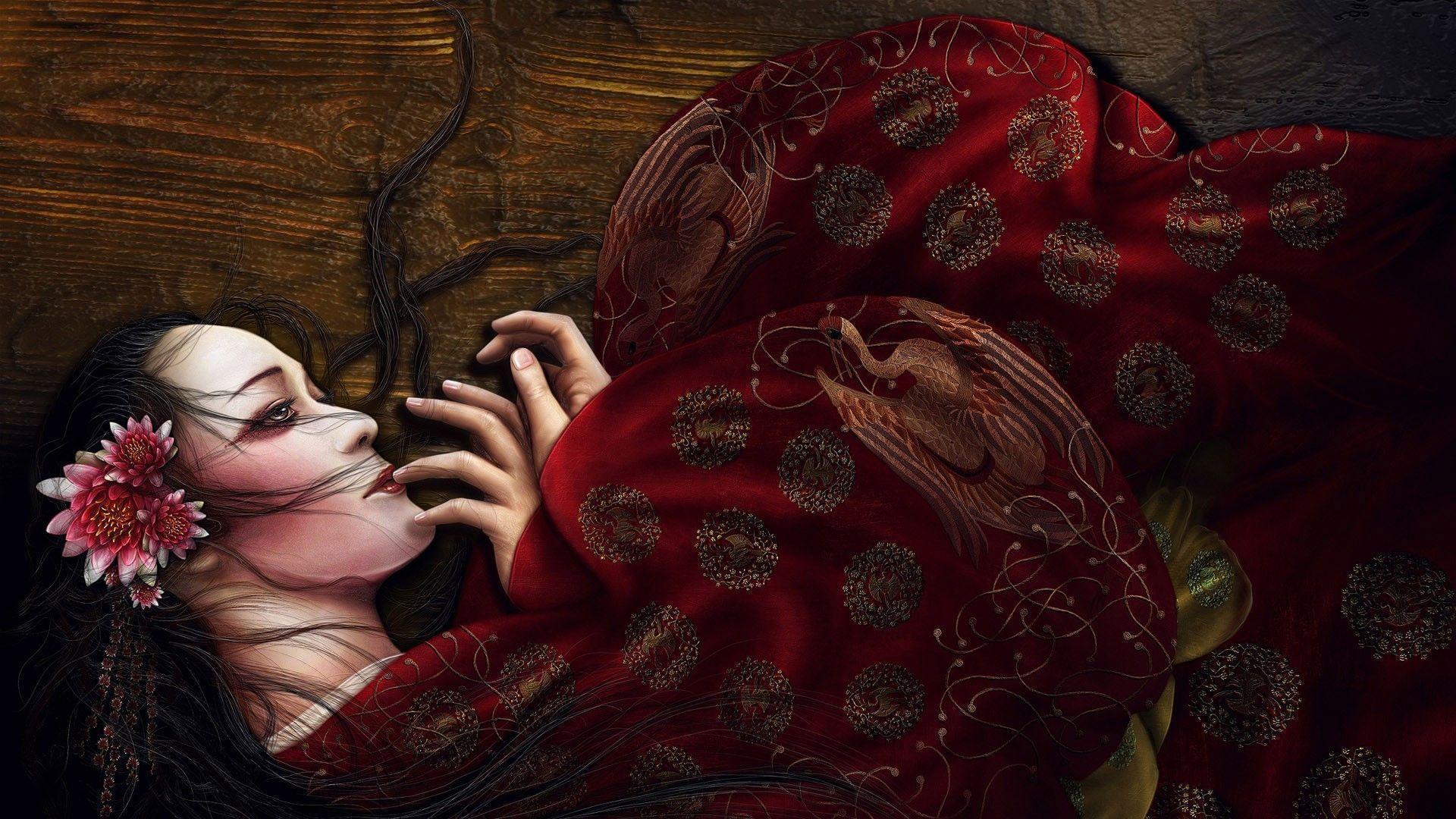 Geisha Wallpapers 1920x1080