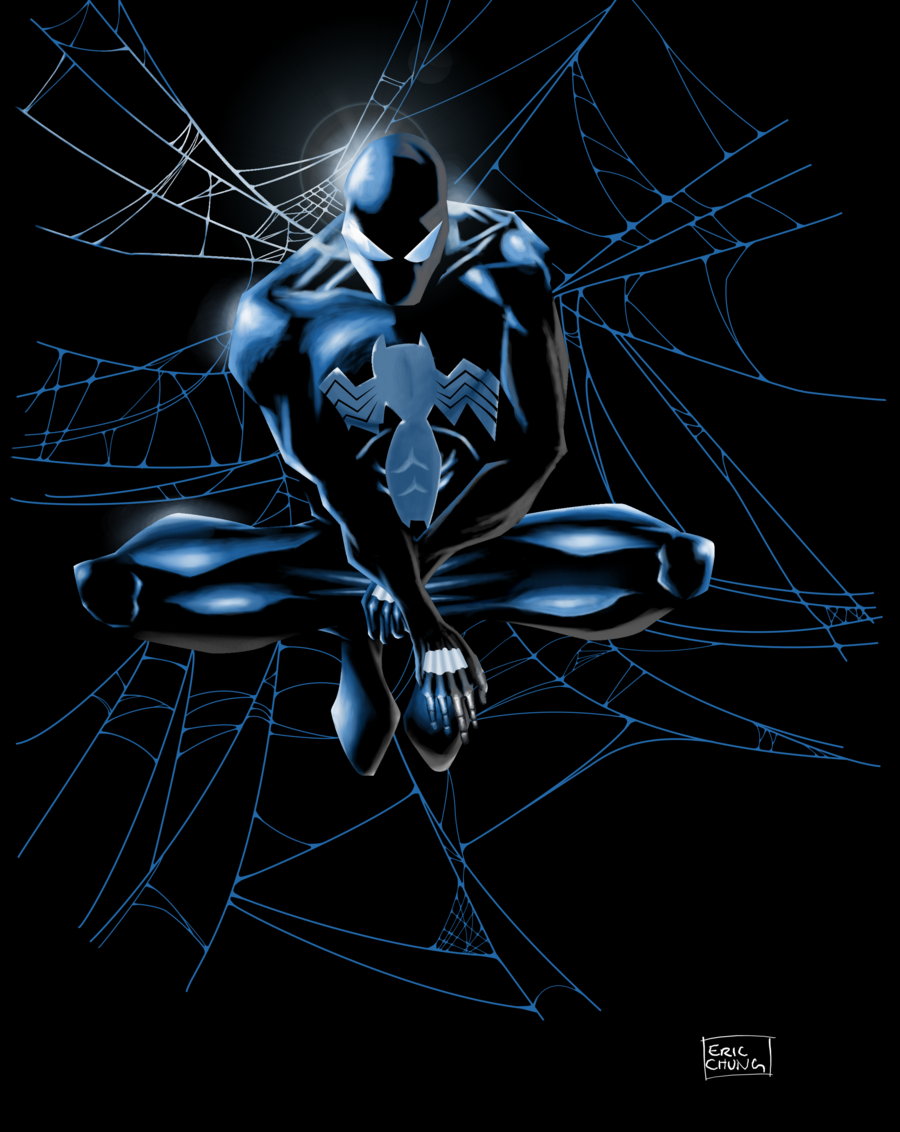 Black spiderman wallpaper wallpapersafari - Black and white spiderman wallpaper ...