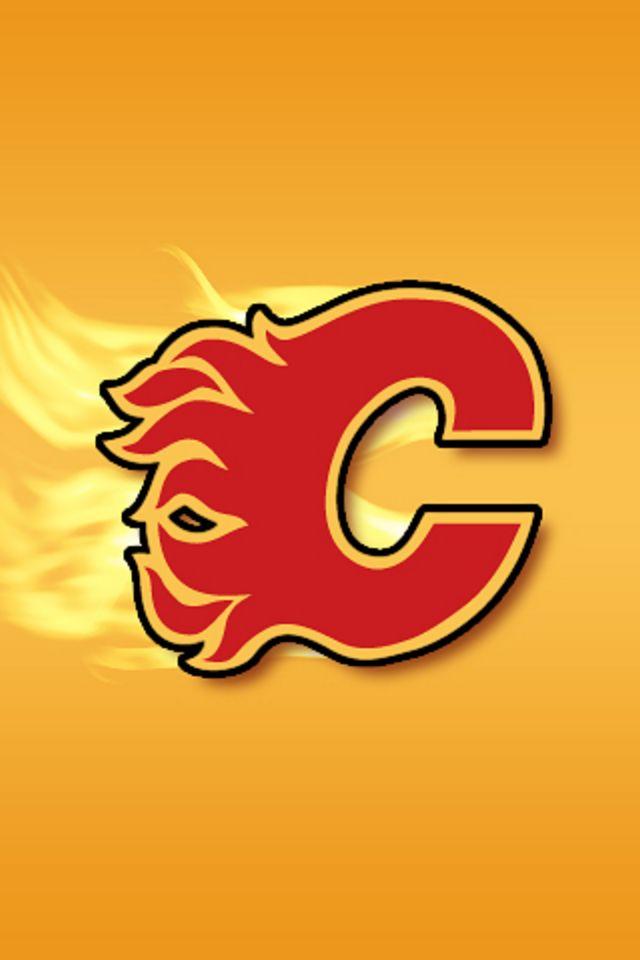 Calgary Flames iPhone Wallpaper HD 640x960