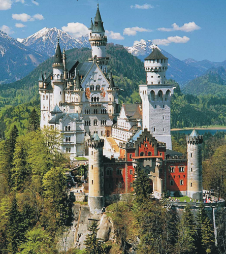 germany castles Best top wallpapers 445x500