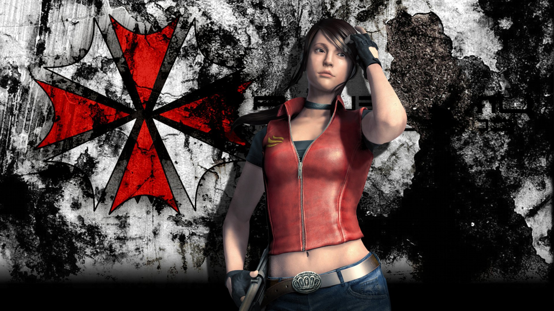 Pics Photos   Resident Evil Claire Redfield Hd Wallpaper 1920x1080