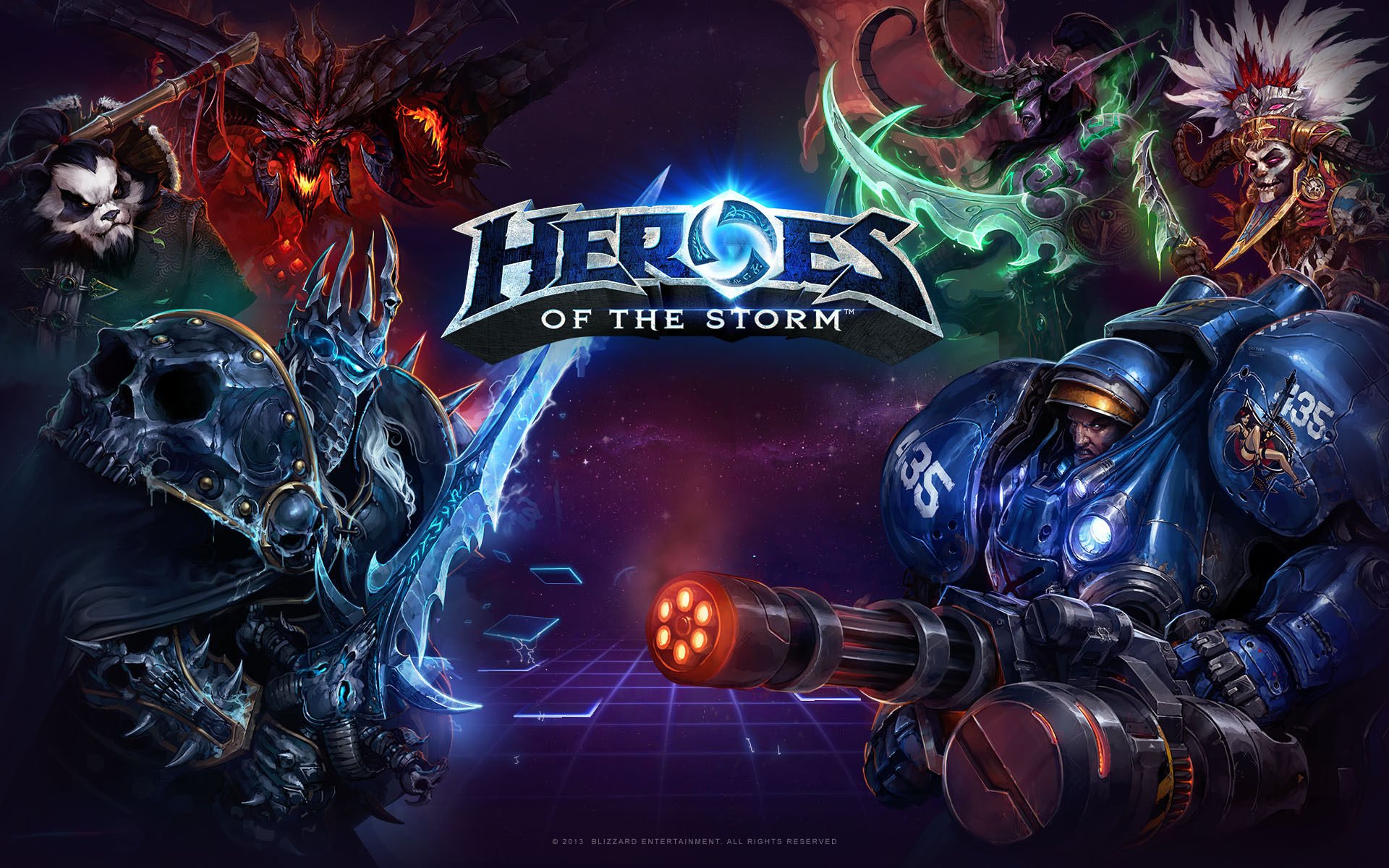 49 Heroes Of The Storm Wallpaper On Wallpapersafari