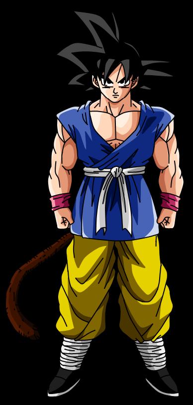 Son Goku V2 by SbdDBZ 388x813