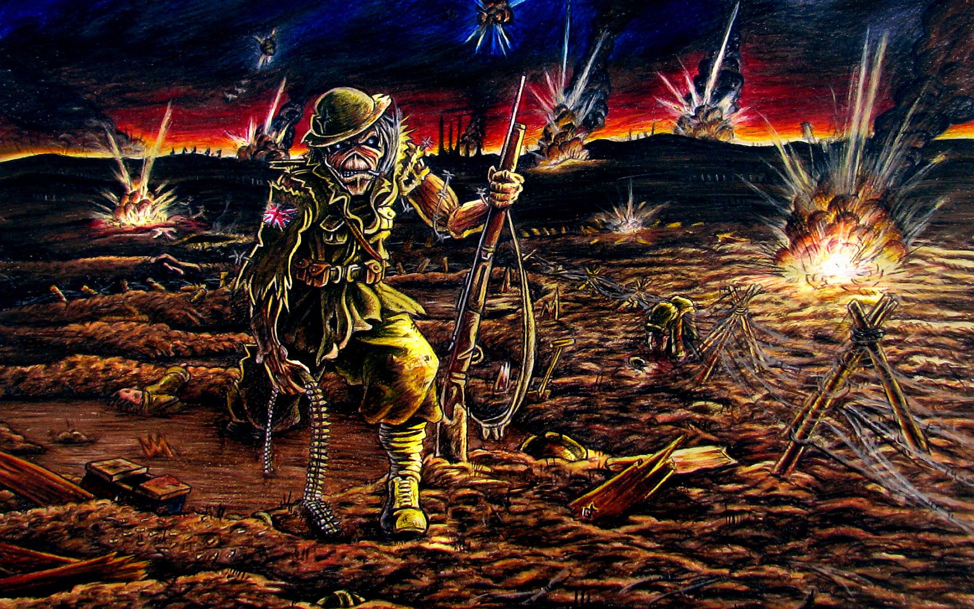 Iron Maiden Desktop Wallpaper: Iron Maiden Wallpaper HD