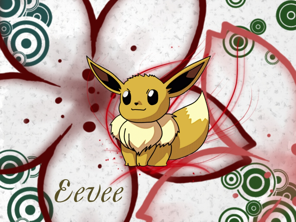 Eevee wallpaper Pokemon wallpaper Anime Forums Anime News More 1024x768