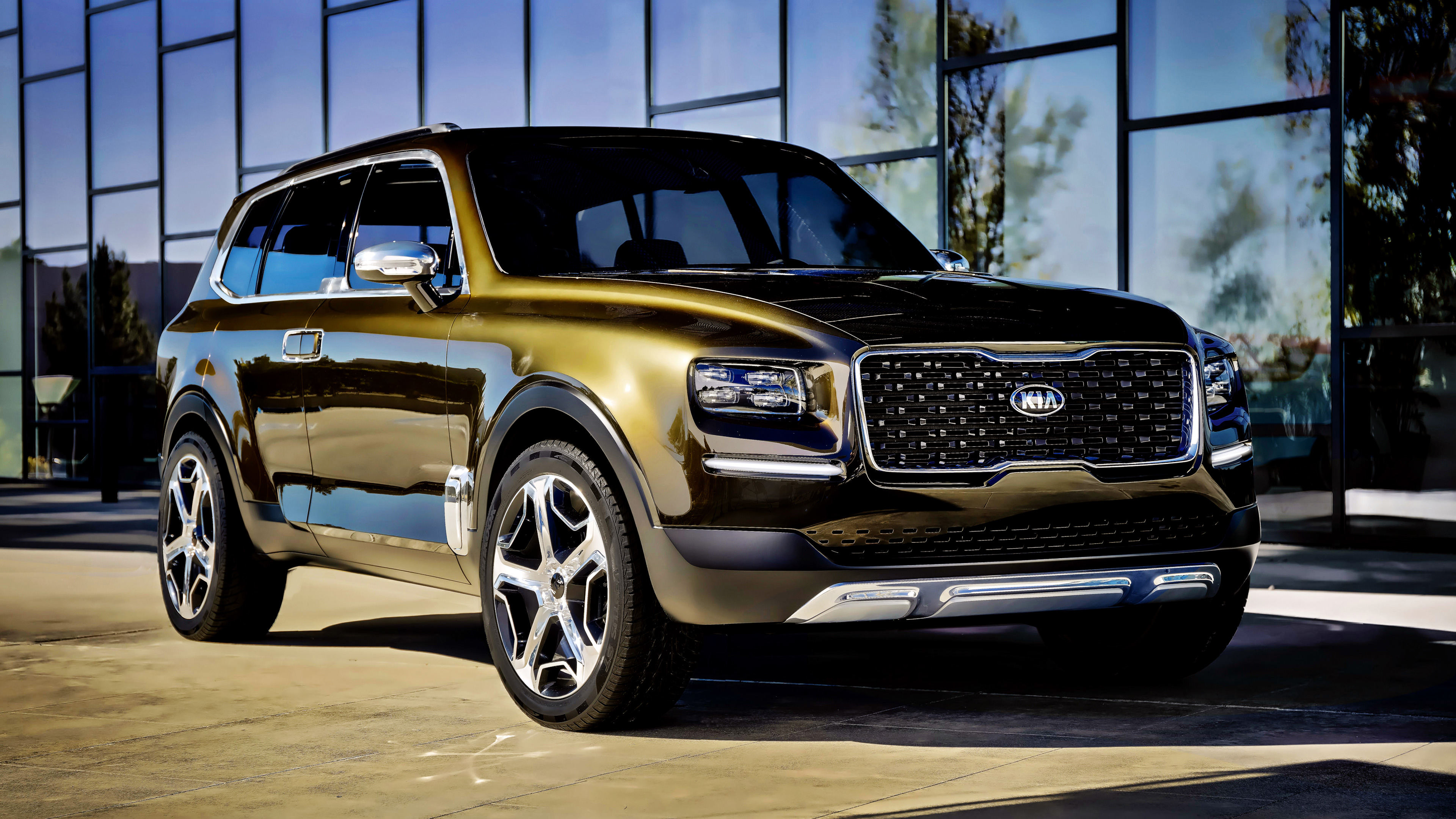 2017 Kia Telluride Concept 4K Wallpaper HD Car Wallpapers ID 7068 3840x2160