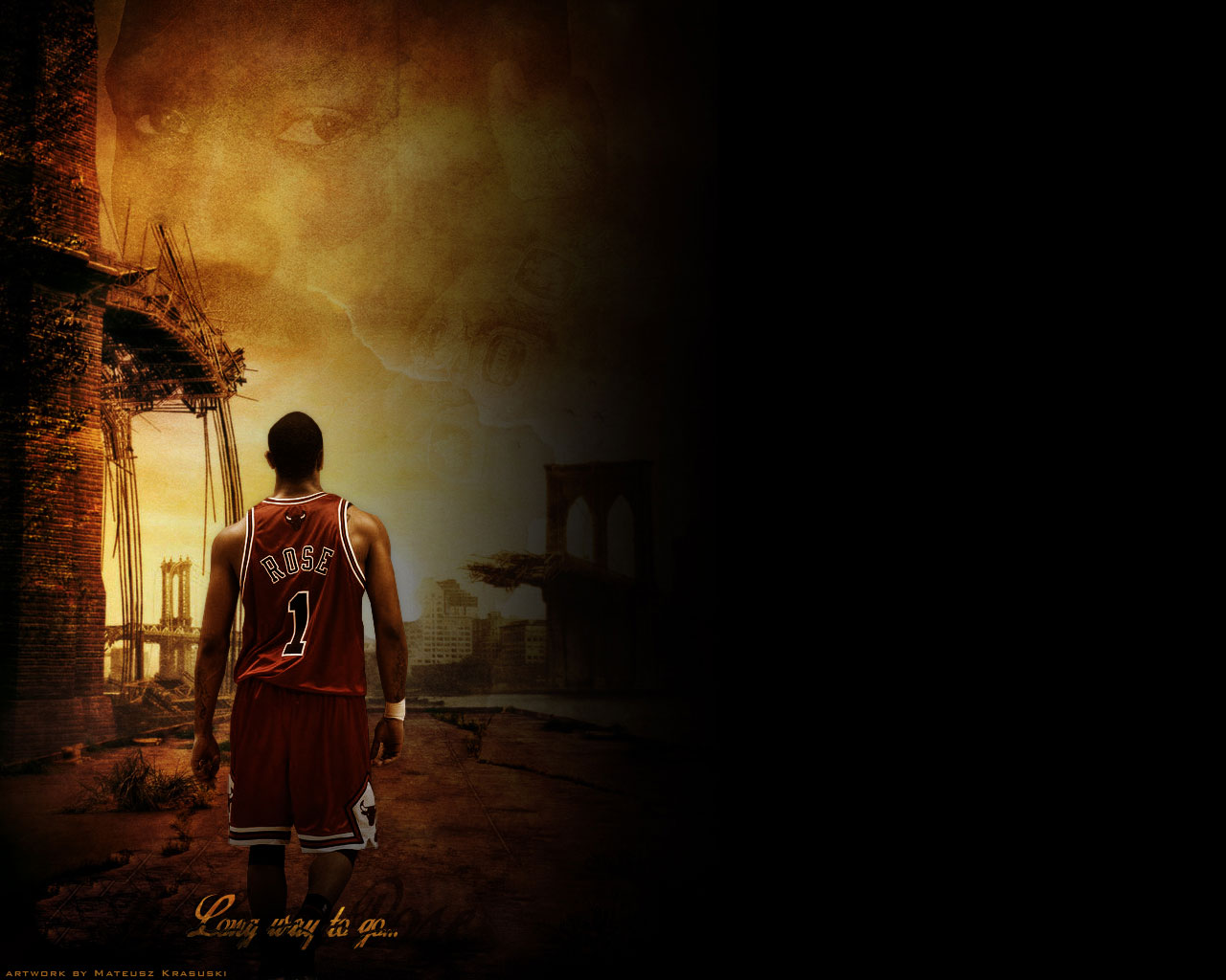 Derrick Rose Wallpapers Vol 1 TheNbaZonecom 1280x1024