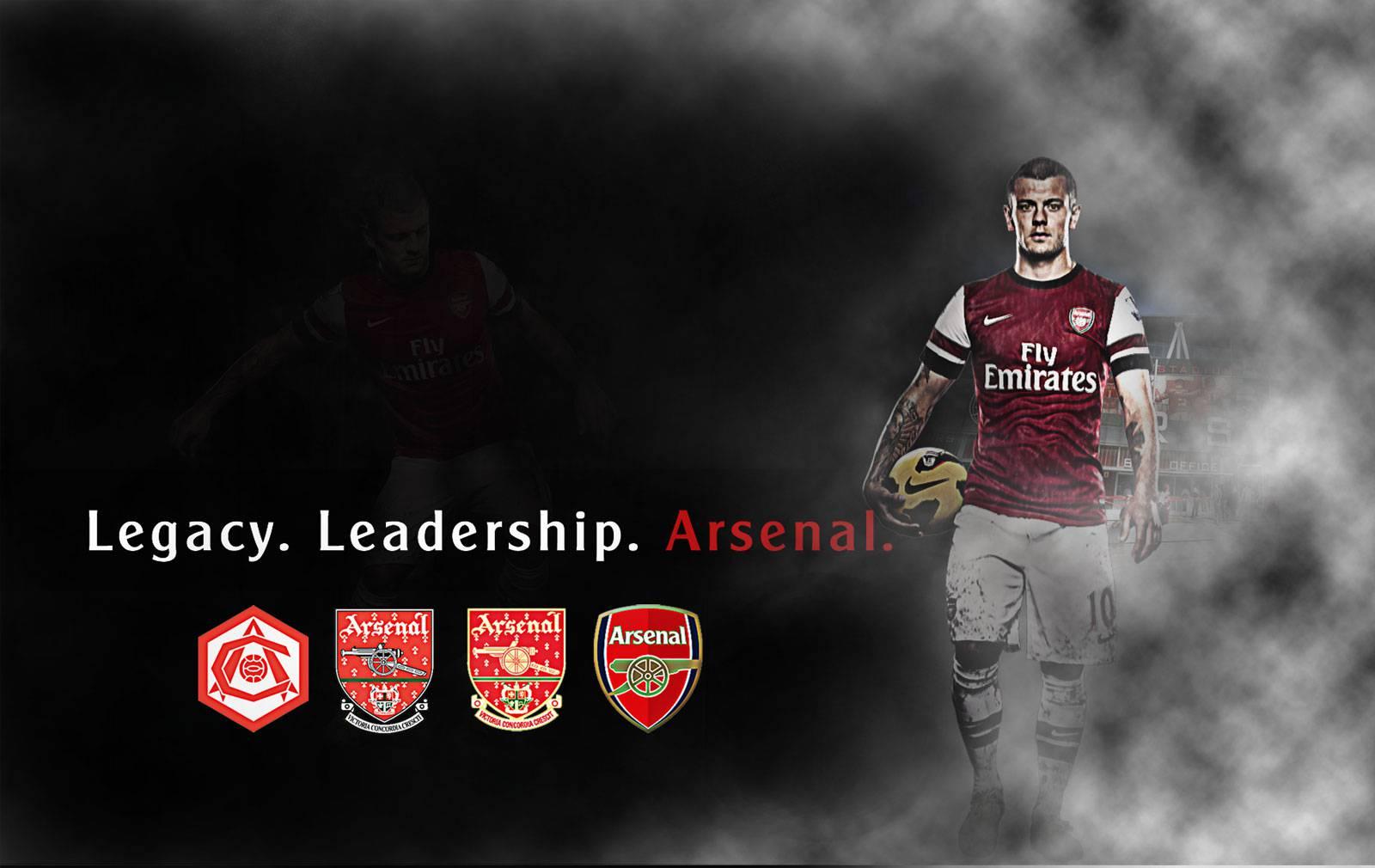 Legacy Leadership Arsenal FC Wallpaper   Football HD 1600x1010