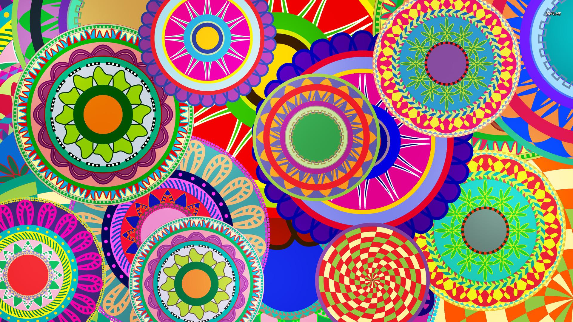 Colorful Flower Wallpaper Designs Punkie