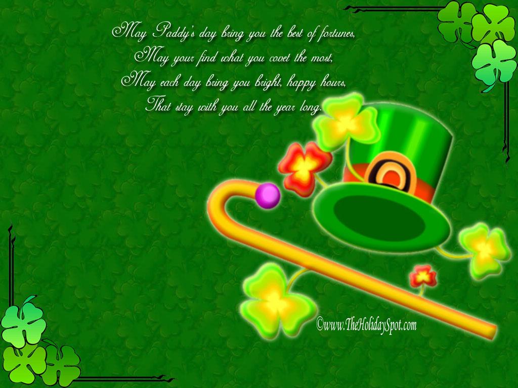 St Patricks Day Desktop Wallpaper 1024x768 1024x768