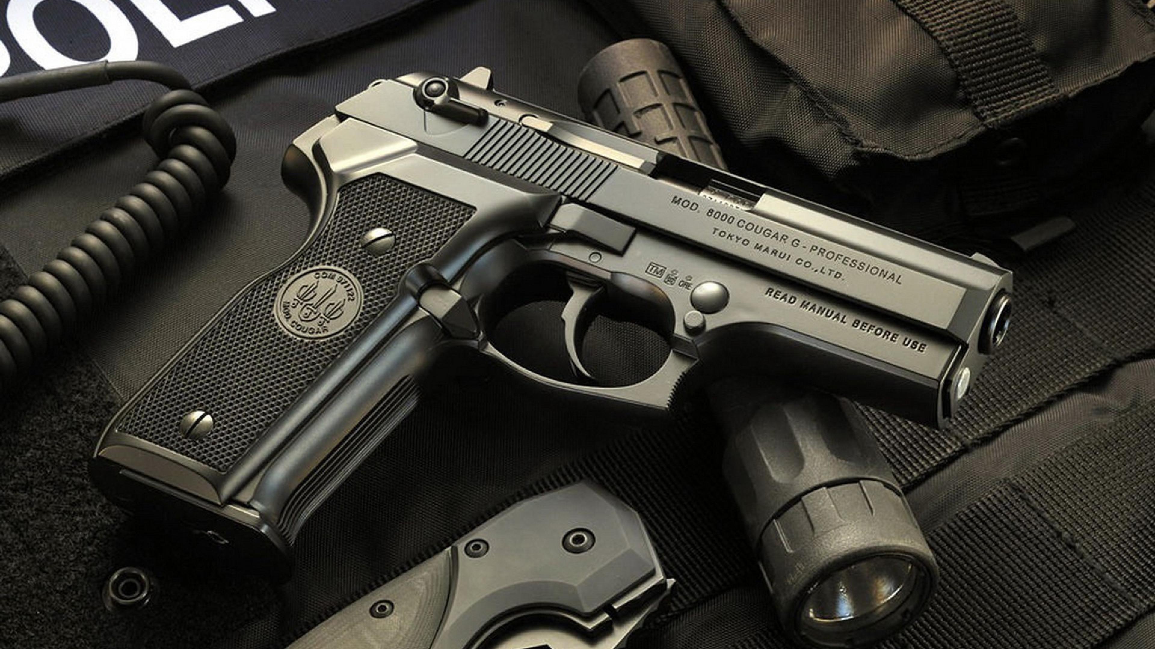 Army Arsenal guns police airsoft ultra 3840x2160 hd wallpaper 3840x2160