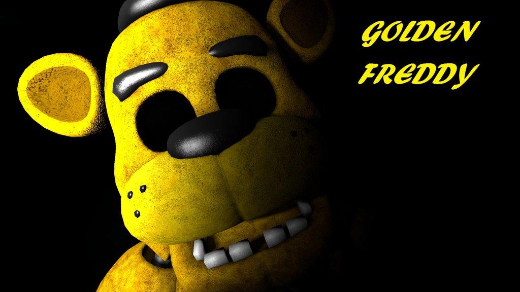 Golden Freddy Wallpaper by SithDestroyer 1024x576