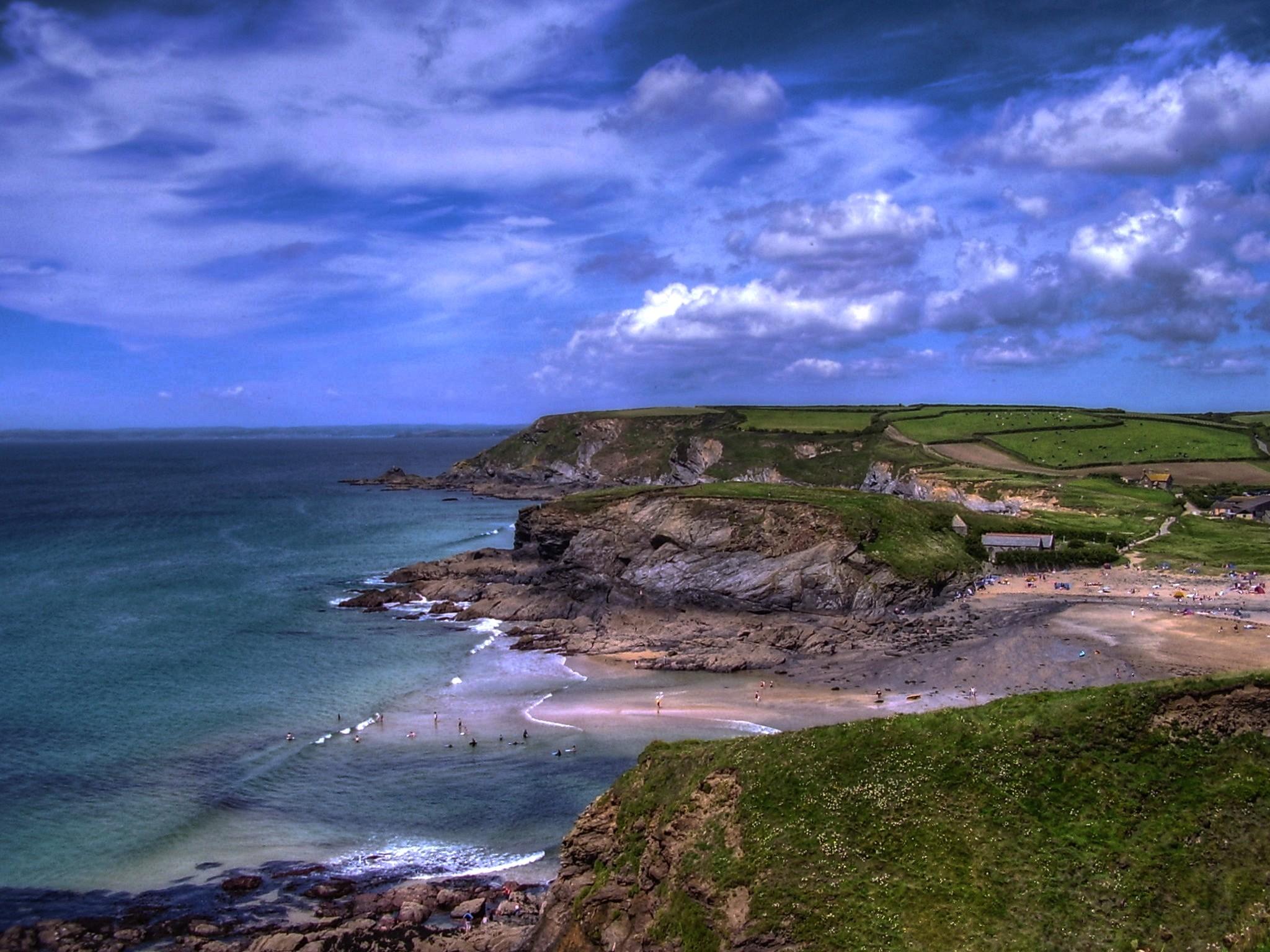 Download Beach Cornwall Wallpaper 2048x1536 Wallpoper 389331 2048x1536