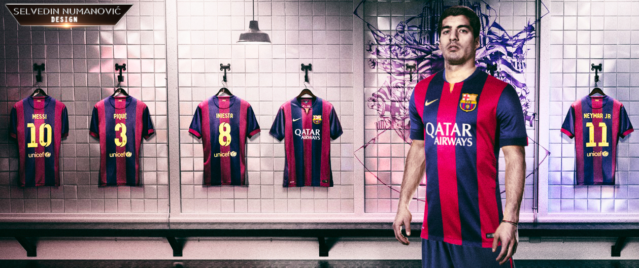 Luis Suarez FC Barcelona by SelvedinFCB 1259x528