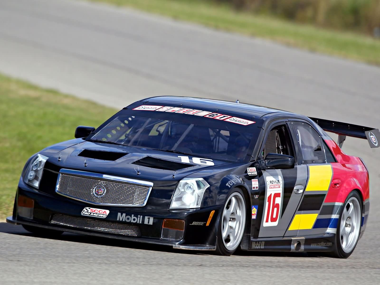 Cadillac Cts V Race Car The Best Car HD Wallpaper 1600x1200