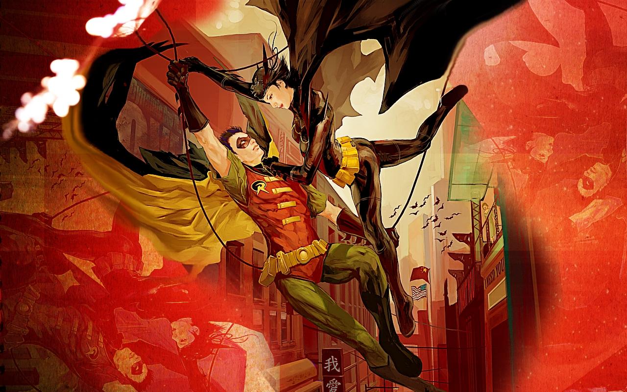 robin dc comics batgirl HD Wallpaper   Cartoon Animation 593061 1280x800