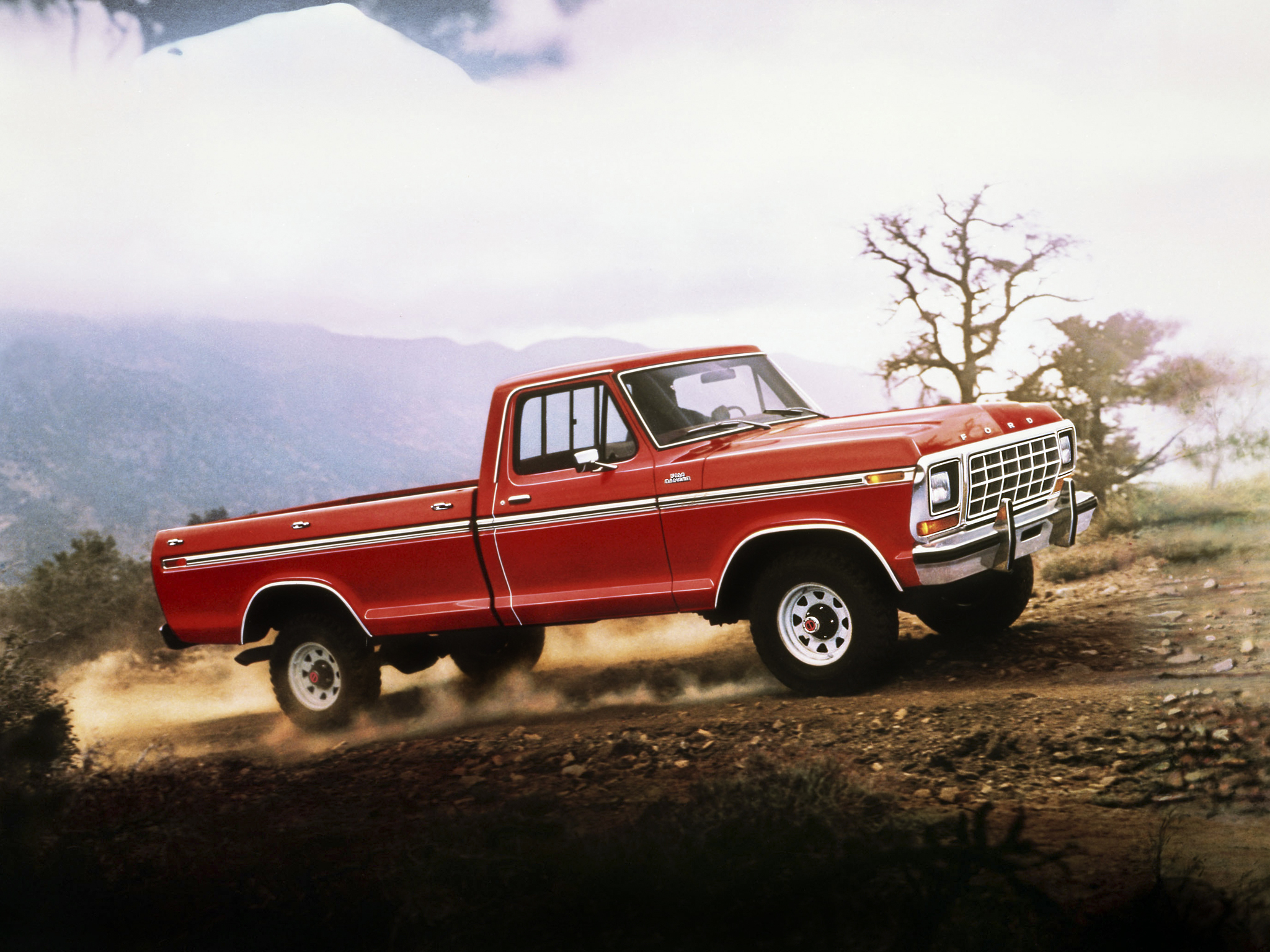 1979 Ford F 150 Ranger 4x4 pickup wallpaper background 2048x1536