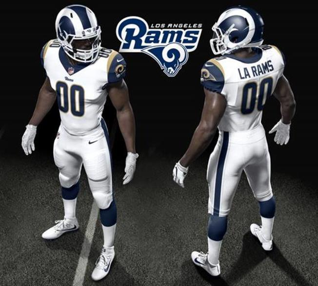 ca73a3b3b Los Angeles Rams Unveil New Uniforms for 2017 Season NBC 652x585