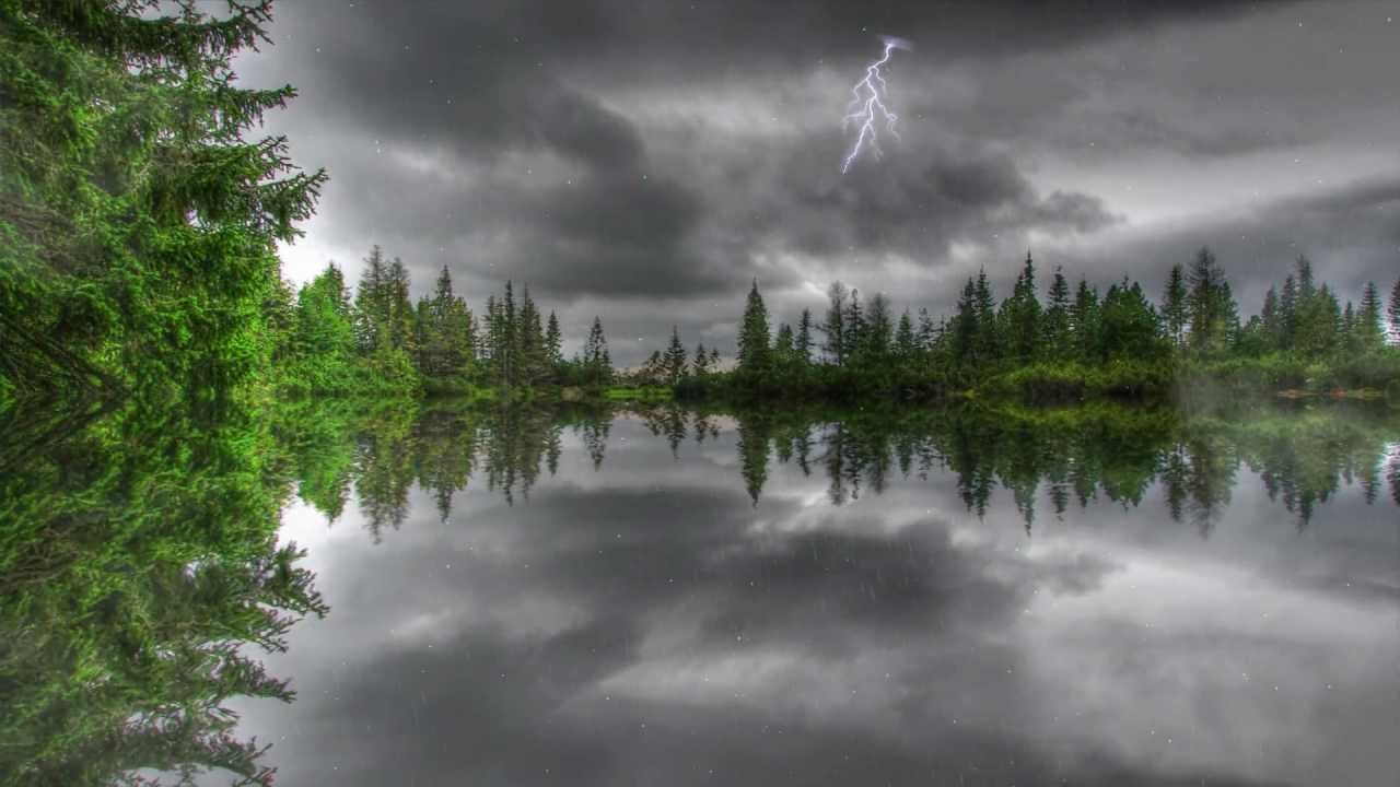 Amazing Thunderstorm Animated Wallpaper httpwwwdesktopanimatedcom 1280x720
