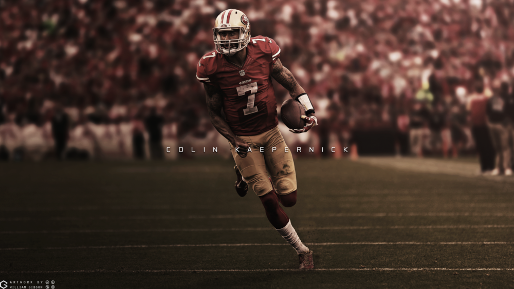 Colin Kaepernick 49ers 2015 Wallpaper 1000x563