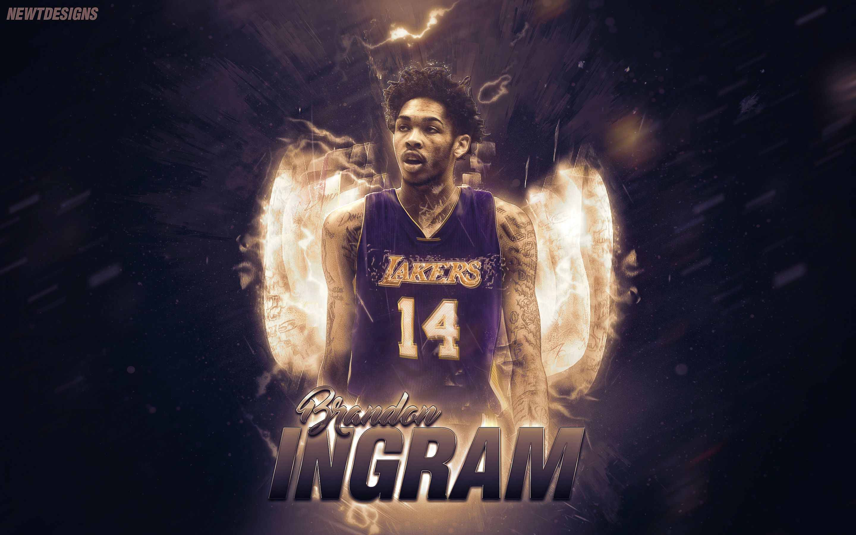 Brandon Ingram Lakers Poster Wallpaper Lakers wallpaper Nba 2880x1800