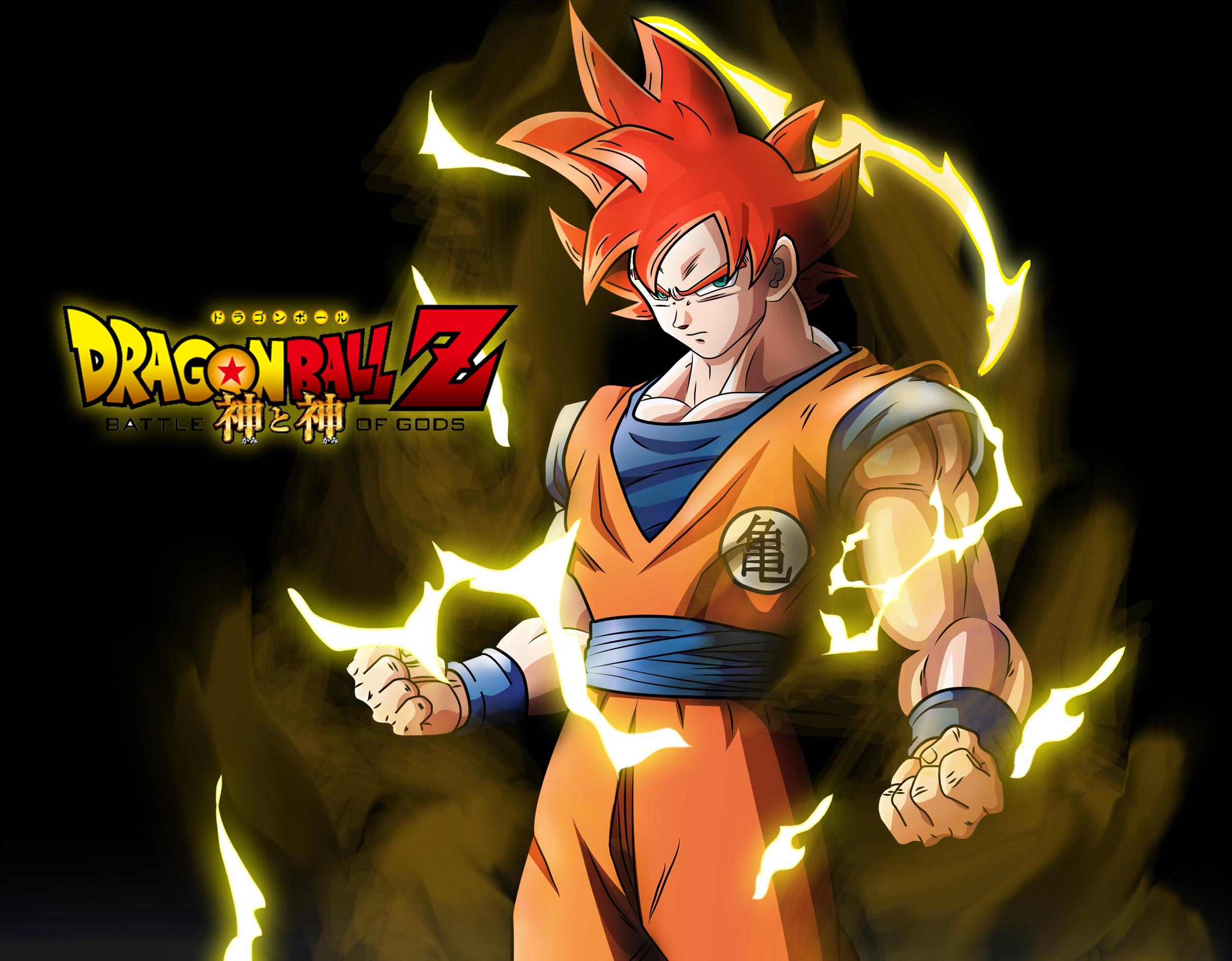 Goku SSj god HD Wallpaper Background Image 2426x1893 ID 2426x1893