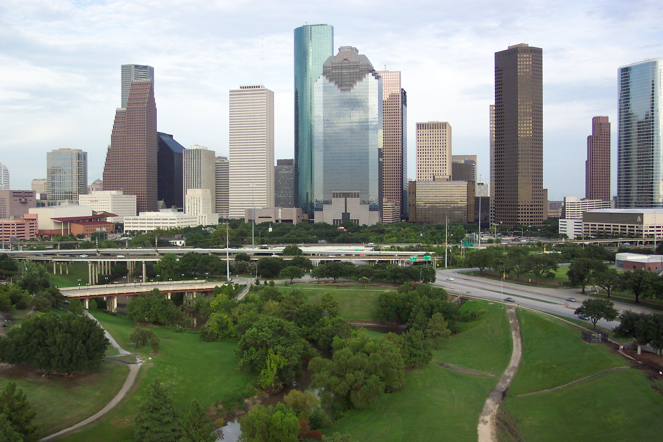 Downtown Houston uploaded by Marshal2Lucky on Wednesday August 19 2160x1440