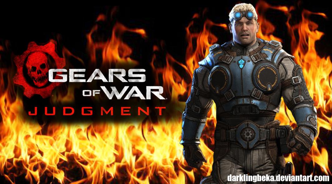 Wallpaper Gears of war Judgment by DarklingBeka 1064x591