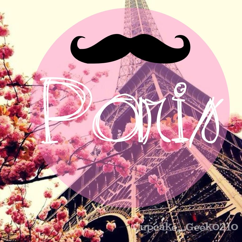 Eiffel Tower Girly Hipster Love It Mustache Paris Wallpaper 1024x1024