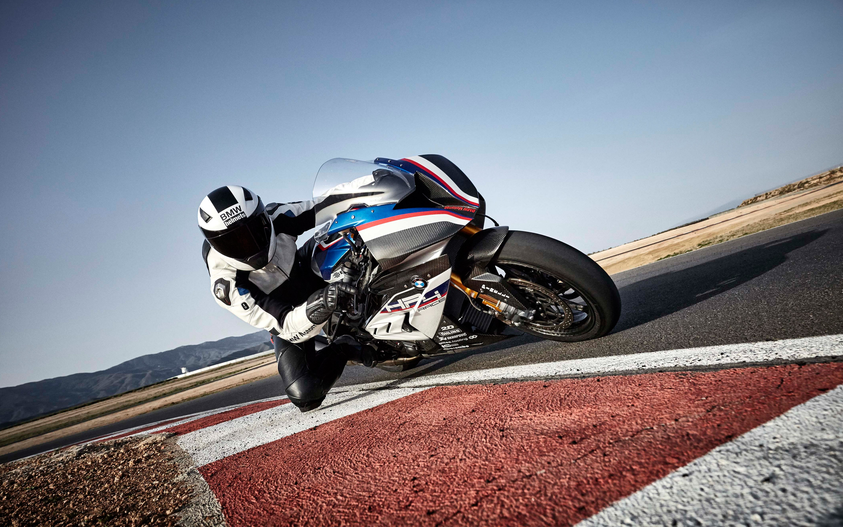 BMW HP4 Blue Widescreen Desktop Wallpaper 1007 2880x1800 px 2880x1800