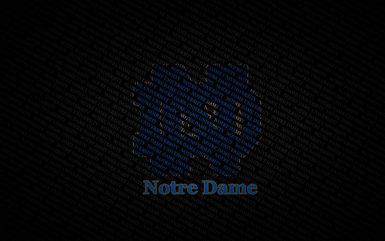 Notre Dame Fighting Irish Desktop Wallpaper Collection 1280x800